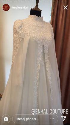 Dior Wedding Dresses, Wedding Abaya, Muslimah Wedding Dress, Muslim Wedding Dresses, Wedding Gowns, Bridal Hijab Styles, Gaun Dress, Turkish Wedding, Moslem Fashion