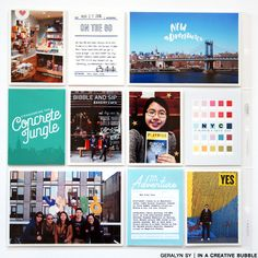 2016 Project Life : New York City by qingmei at Studio Calico