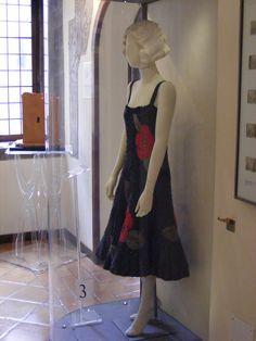 Museo del Burcardo - Le sale - Costume di Tatiana Pavlova per Zaza di Pierre Berton e Charles Simon