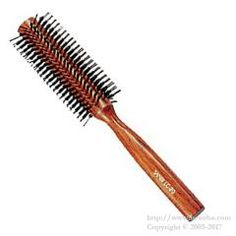 https://www.beauba.com/products/detail.php?product_id=11592 Sanbi Lc-20. #HairStylingTools #Brush  Hard type. Short hog bristles clean your hair and gives it moisture and shine.