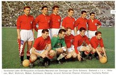 Switzerland team group before playing Chile in the 1962 World Cup Finals. Fifa, World Cup Teams, Chile, World Cup Final, Football Soccer, In This Moment, Baseball Cards, Collection, Switzerland