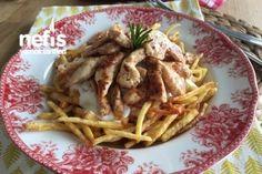 Tavuklu Çökertme Kebabı (Lokum Gibi) Tarifi