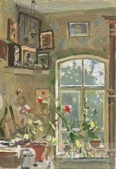 Window Art, Russian Art, Light Painting, Pictures To Paint, Lovers Art, Photo Art, Illustration Art, Illustrations, Contemporary Art