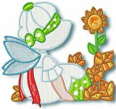 Fall time fairy blocks http://www.pamelasembroidery.com/sunbonnet--embroidery-designs/fall-time-fairy-blocks-1204