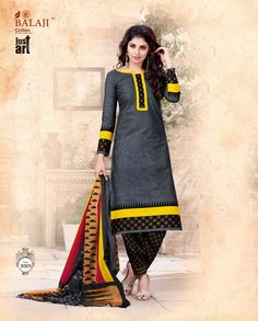 Balaji Just art vol-3 cotton dress material ( 16 pc Catalog)
