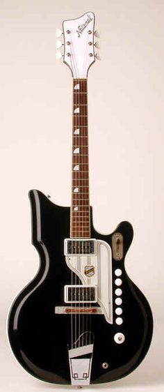 1960's National Black Valpro Res-O-Glas #guitar  http://ozmusicreviews.com/christmas-gifts-for-guitarists