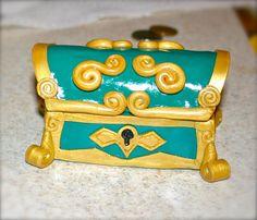 Legend of Zelda inspired Treasure Chest- Jewelry Box. $25.00, via Etsy.