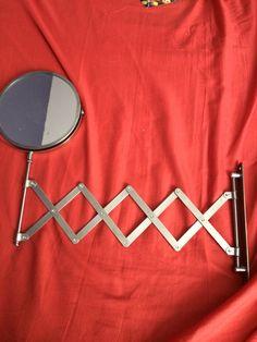 Miroir extensible chiné