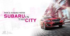 Subaru in the City of perth!