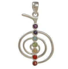 Reiki Symbols for Your Chakras | Reiki Pendant, Chakra Reiki Pendant, Chakra Jewelry, Cho Ku Rei ...