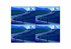 'Wandkacheln Blaues Land (2) pp' von Rudolf Büttner bei artflakes.com als Poster oder Kunstdruck $19.41
