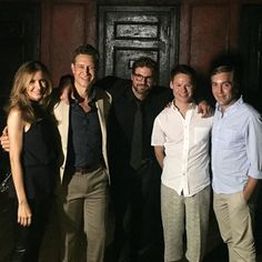 Robert Gant, Scott Lowell, Gale Harold and Michelle Clunie all came out to the Pantages Theater this week to see Randy Harrison starring in Cabaret and Ben, Ted, Brian, Melanie and Justin look as close as they did when we got to know them on Queer as Folk 15 years ago.