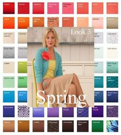 Seasonal Color Analysis Spring