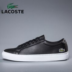2019 Lacoste Men's Run Sneakers Male Leather Comfortable Walking Shoes Men Athletic Jogging Sport Shoes Footwear Lacoste Trainers, Mens Walking Shoes, Lacoste Men, Famous Brands, Jogging, Footwear, Louis Vuitton, Athletic, Running
