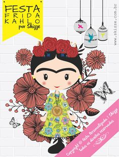 Festa FRIDA KAHLO - Kit para imprimir