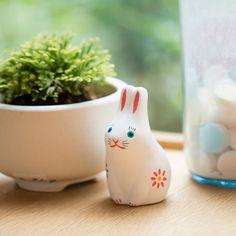 めでた玩具 土人形 よきこと菊兎|家を装う|中川政七商店 公式サイト Planter Pots