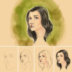 iPad Pro drawing and coloring