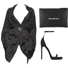 A fashion look from February 2018 featuring Yves Saint Laurent sandals. Browse and shop related looks.