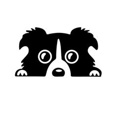 14*8CM Border Collie DOG Personality Reflective Glass Rear Pet Car Sticker Black/Silver CT-505♦️ SMS - F A S H I O N  http://www.sms.hr/products/148cm-border-collie-dog-personality-reflective-glass-rear-pet-car-sticker-blacksilver-ct-505/ US $0.87
