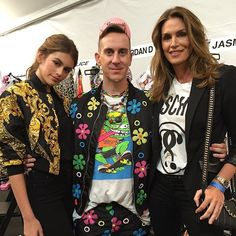 Pin for Later: Umbrella Hats, Cindy Crawford's Son, and More Things You Need to See From Moschino's Resort '17 Show Cindy Crawford and Kaia Gerber Also Scored Invites to the Event