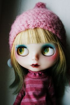 I saw these dolls when we were in Thailand!  I really want one!  :)