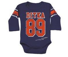 Ditka Kids Long Sleeved Jersey Onesie