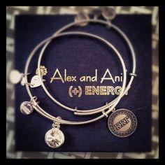 My new Alex & Ani bracelets!