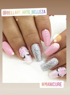 So cute my 6 year old cousin would LOVE this Ombre nails in 2019 nail designs for 6 year olds - Nail Desing Cute Acrylic Nails, Acrylic Nail Designs, Cute Nails, Nail Art Designs, Unicorn Nails Designs, Unicorn Nail Art, Perfect Nails, Gorgeous Nails, Pink Nails
