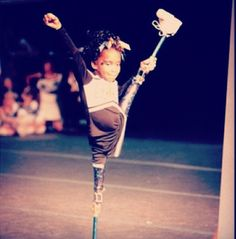 dedication & heart, this little girl is my hero