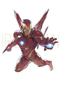 Iron man || Avengers Infinity War || Cr: Devon