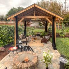 Diseños de palapas para decorar jardines (20) - Curso de Organizacion del hogar y Decoracion de Interiores