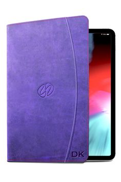 This beautful custom purple vintage leather iPad Pro 12.9 case was done as part of Custom Program. MacCase's Custom Program offers over 4800 possible combinations to allow you to design the Apple portable case of your dreams. #ipadcase #customipadcase #ipadpro Custom Leather, Vintage Leather, Custom Ipad Case, Best Ipad, Macbook Pro Case, Ipad Pro 12 9, Embossed Logo, Create Yourself, Pasta