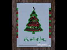 To You and Yours Shaker Cards Kit by Stampin' Up! How-To - YouTube