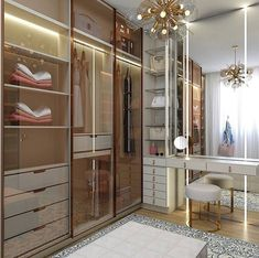 51 Popular Walk In Closet Designs For Organized Home - You are lucky enough to have a walk-in closet in your home. It is because this type of closet is a lavish yet practical solution to cramped and clutte. Wardrobe Room, Wardrobe Design Bedroom, Closet Bedroom, Kids Bedroom, Bedroom Ideas, Bedroom Decor, Dressing Room Closet, Dressing Room Design, Walk In Closet Design