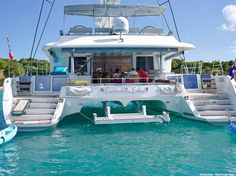 Charter catamaran Barbuda Belle is more affordable than you think #YachtWorldCharters #YWC. Yes please