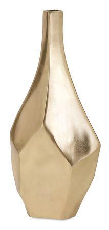 Sienna Gold Vase (small)