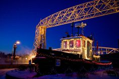 Northern Images Journal: Aerial Lift Bridge