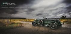 1931 Bentley4  8Ltr captured on a brooding morning as it was parked at Carpenter Ranch near Haley, Colorado