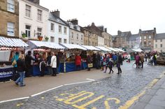 Cupar Farmers Market December, now occupying its pitch in Crossgates Cupar on a two weekly basis adjacent to the Historic Market Cross. Farmers Market, Street View, Marketing, Country, Beautiful, Rural Area, Farmers' Market, Country Music
