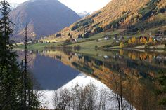 Reflections, http://www.flickr.com/photos/neil1406/  Autumn colours in Sogndalsdalen, Norway