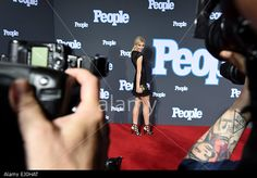 German model  Lena Gercke arrives for the Red-Carpet-Show of 'People' magazine Germany at the Hotel Waldorf Astoria in Berlin, Germany, 17 March 2015.  © dpa picture alliance / Alamy