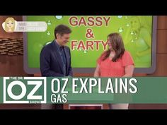 (18) Dr. Oz Explains Gas - YouTube Anti Bloating, Reduce Bloating, Gut Health, Health Care, 21 Day Diet, Passing Gas, Medical Pictures, Burning Questions, Dr Oz