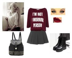 """""""Sin título #354"""" by lucy-123-1 ❤ liked on Polyvore featuring Topshop, Pull&Bear and JY Shoes"""