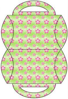 129 pieces-Lg Party Printable Set---AQUARELINHA: Kit Flor verde e rosa