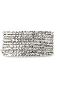 Bardot Spiral Bangle -- Silver from Stella & Dot on shop.CatalogSpree.com, your personal digital mall.