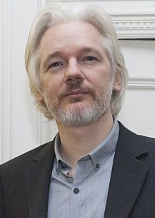 Julian Assange August (1971-) an Australian computer programmer, publisher and journalist. He is editor-in-chief of the organisation WikiLeaks, which he founded in 2006. He has won numerous accolades for journalism, including the Sam Adams Award and Martha Gellhorn Prize for Journalism.