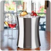 Double Bottle Wine Chiller more and at Rosehill Wine Cellars Wine Chiller, Wine Cellars, Wine Bucket, Wine Storage, Wine Gifts, Cavities, Corporate Gifts, Wall Design, Buckets