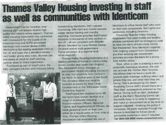 Thames Valley Housing Investing in Staff as well as Communities with Identicom