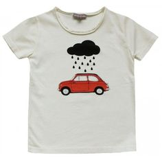 Emile et ida car t-shirt (€28) ❤ liked on Polyvore featuring tops, t-shirts, shirts and t shirts