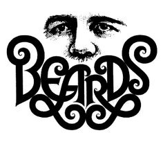 Harris Lewine (art Director) Tom Carnase (Letterer) Book Jacket for Beards 1975